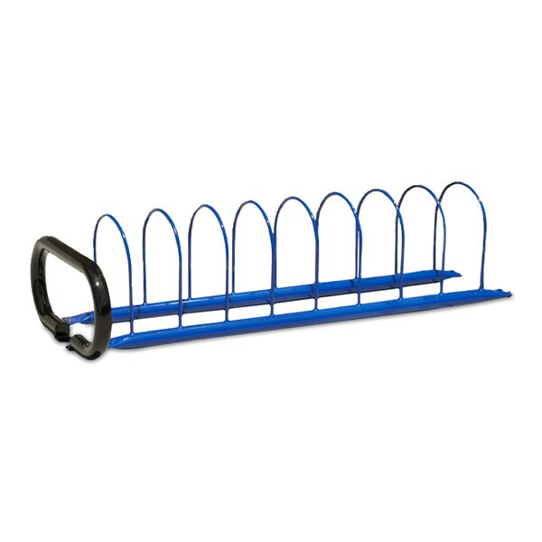 8 Bike Triad Freestanding Bike Rack by Anova