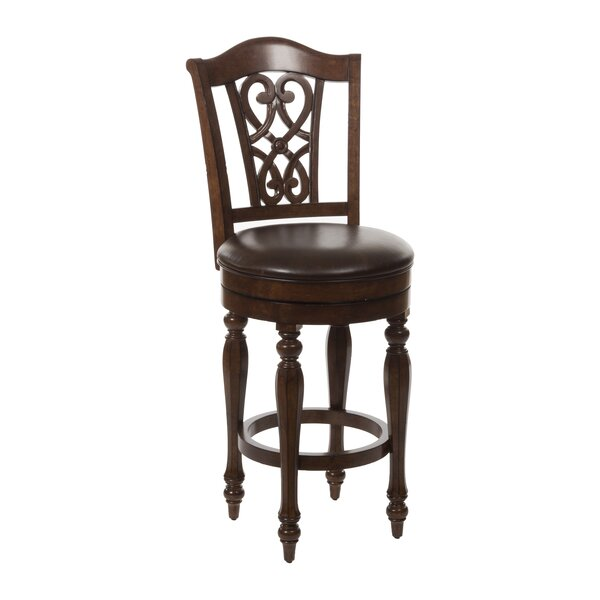 Hamilton Park 30 Swivel Bar Stool with Cushion by Hillsdale Furniture