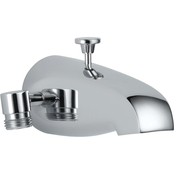 Universal Showering Components Single Handle Wall Mount Tub Spout by Delta