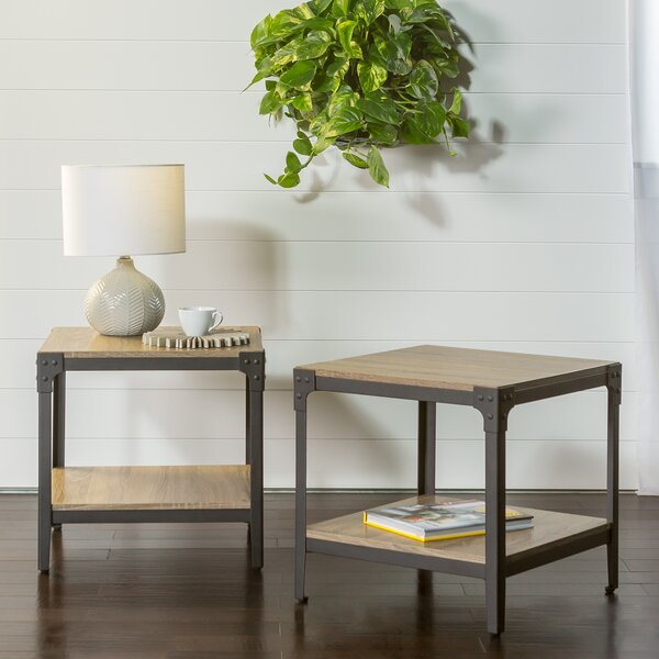 Cainsville End Table (Set of 2) by Greyleigh