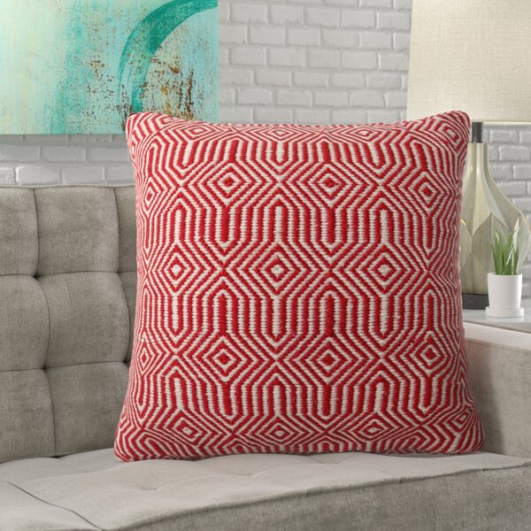 Washam Outdoor Throw Pillow by Wrought Studio