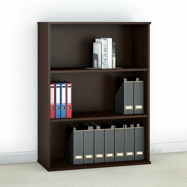 Review Easy Office 3 Shelf Standard Bookcase