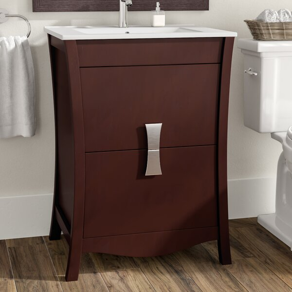 Cataldo Floor Mount 24 Single Bathroom Vanity Set by Royal Purple Bath Kitchen
