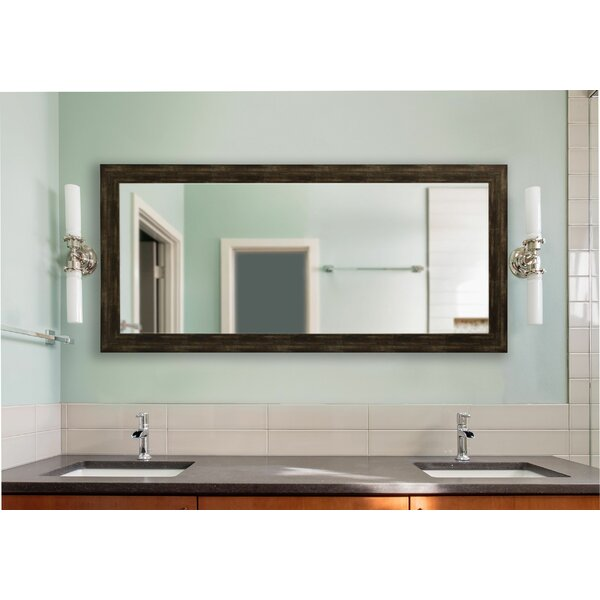 Brushed Classic Wall Mirror by Loon Peak