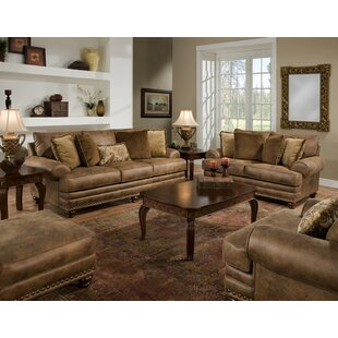 rustic living room sets you ll love wayfair rh wayfair com Contemporary Living Room Leather Furniture rustic leather living room furniture sets