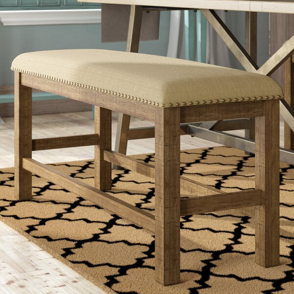 Hillary Wooden  Bench by Laurel Foundry Modern Farmhouse