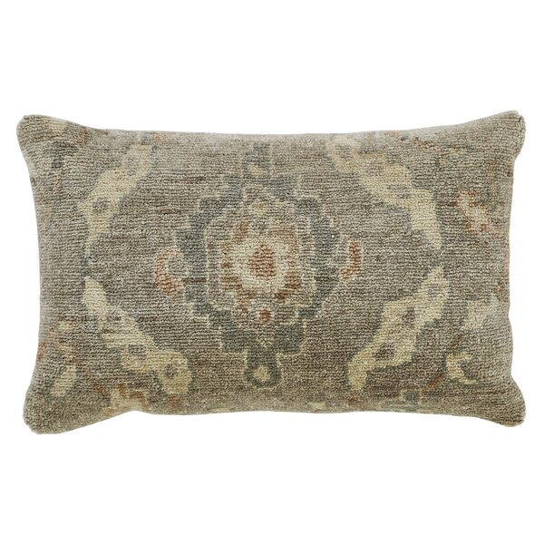 Hollier Wool Lumbar Pillow by Ophelia & Co.