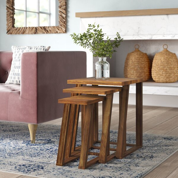 Bret 3 Piece Nesting Tables By Mistana