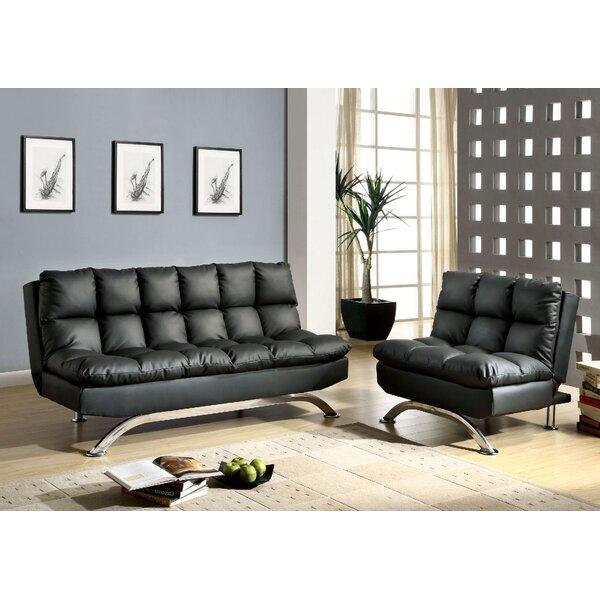 Jorgensen Sleeper 2 Piece Living Room Set by Orren Ellis