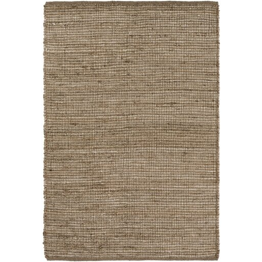 Langhorne Hand-Woven Brown/Neutral Area Rug by Gracie Oaks