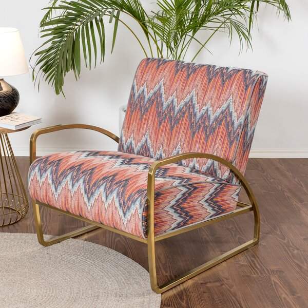 Peay Armchair by Bungalow Rose Bungalow Rose
