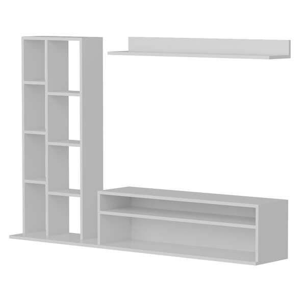Moshier 50 TV Stand with Bookcase by Wrought Studio