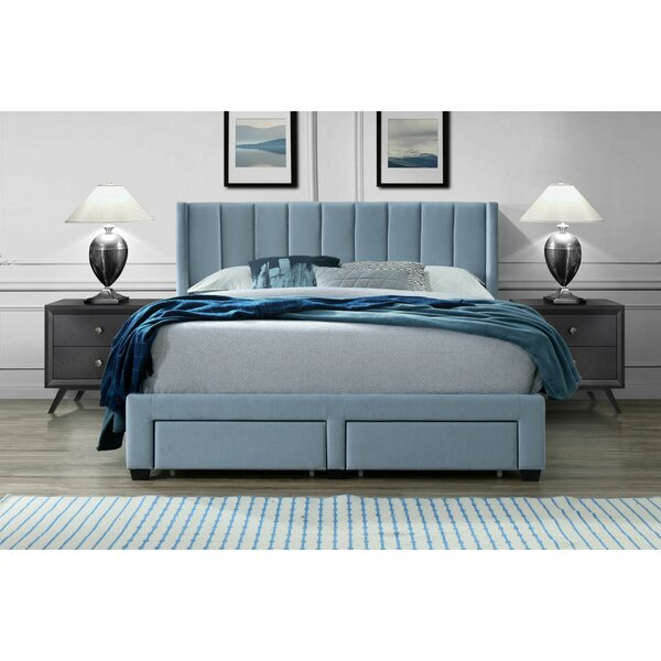 Ericksen Queen Upholstered Storage Standard Bed by Modern Rustic Interiors