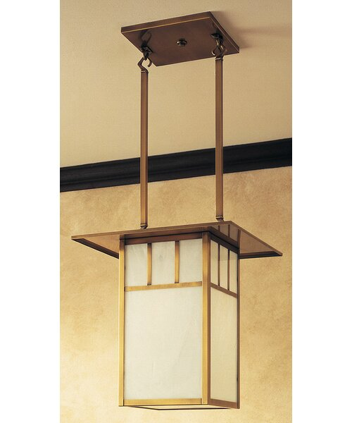 Telly 2 - Light Lantern Rectangle Chandelier By World Menagerie
