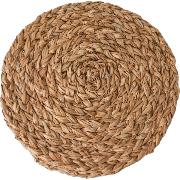 Round Braided Placemat (Set of 4) by Couleur Nature