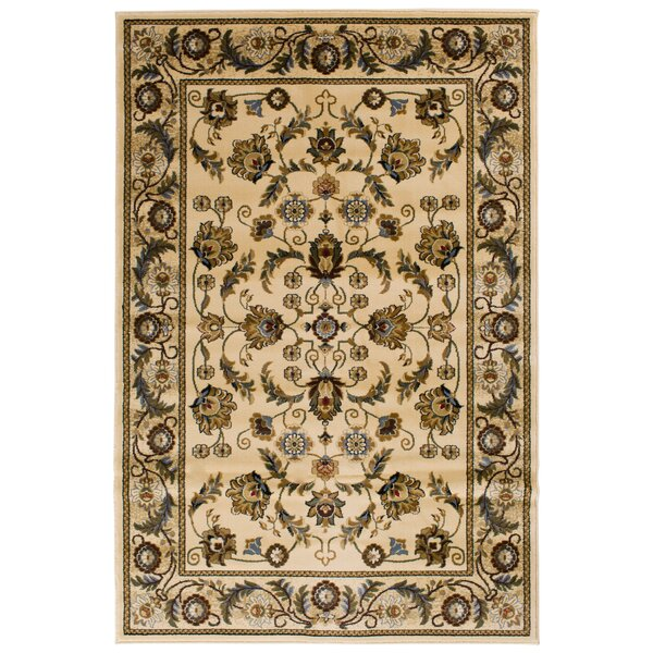 Clodia  Ivory Area Rug by Wildon Home ®