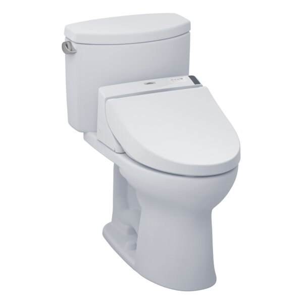 Drake 1.28 GPF Elongated Two-Piece Toilet by Toto