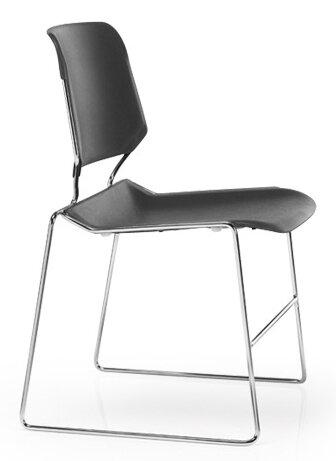 Matrix Armless Stacking Chair by KI Furniture