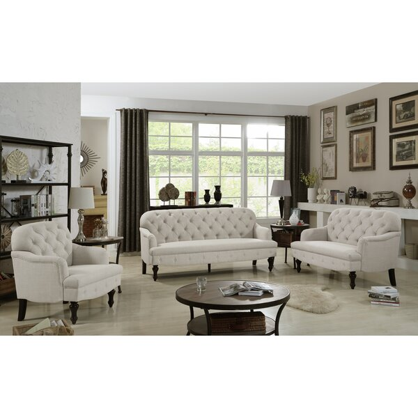 Janay Living Room Set by Three Posts