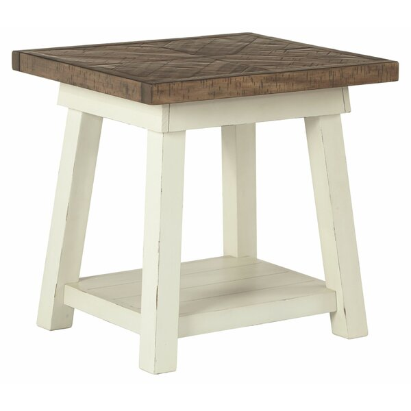 Brohead End Table With Storage By Gracie Oaks