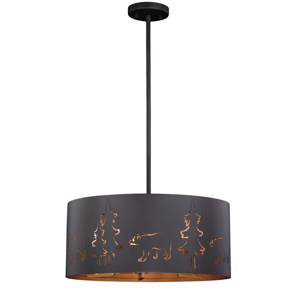 Barnabas 5-Light Drum Chandelier by Millwood Pines