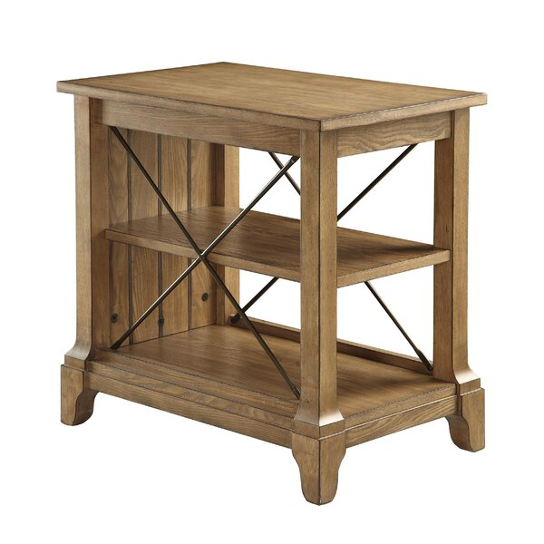 Henton 3-Tier End Table with Storage by August Grove