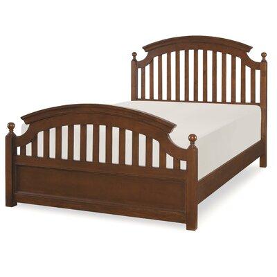 Three Posts Baby and Kids Culbertson Slat Headboard  Size: Twin, Color: Cinnamon