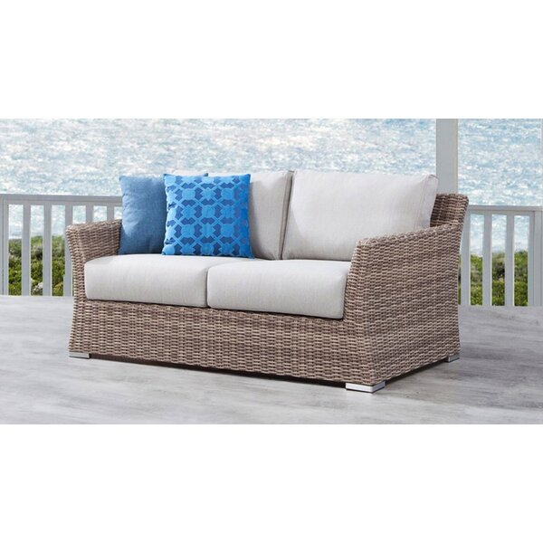 Searle Olefin Loveseat with Cushions by Ivy Bronx Ivy Bronx