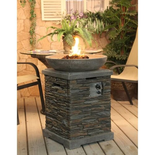Propane Gas Fire Pit Sol 72 Outdoor