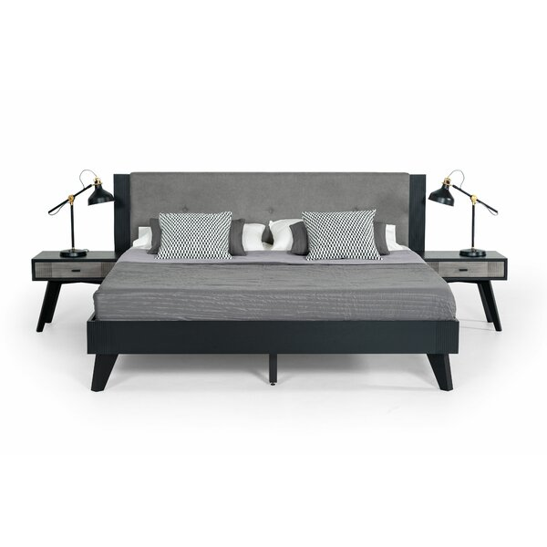 Donham Upholstered Platform Bed by Ivy Bronx