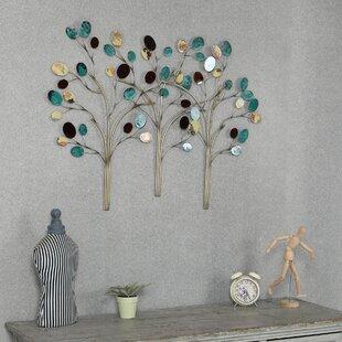 Metal Family Tree Wall Art Wayfair