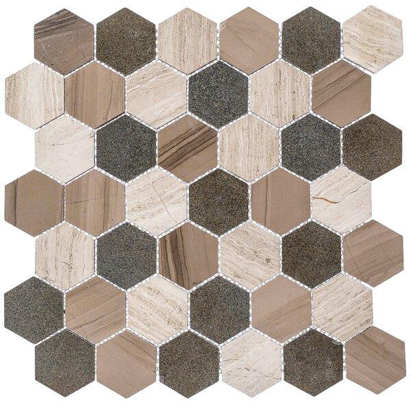 2 x 2 Marble Honeycomb Mosaic Floor Use Tile