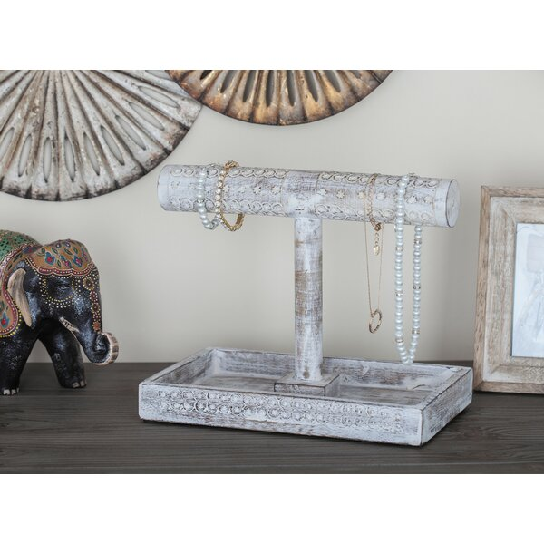 Wood Jewelry Stand by Cole & Grey