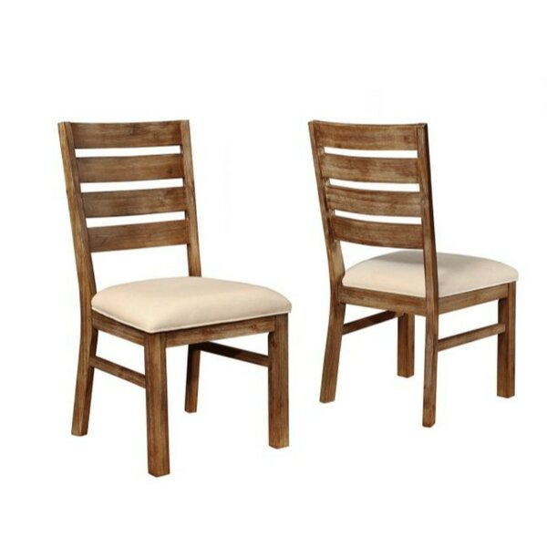 Weinstock Wooden Dining Chair (Set of 2) by Millwood Pines
