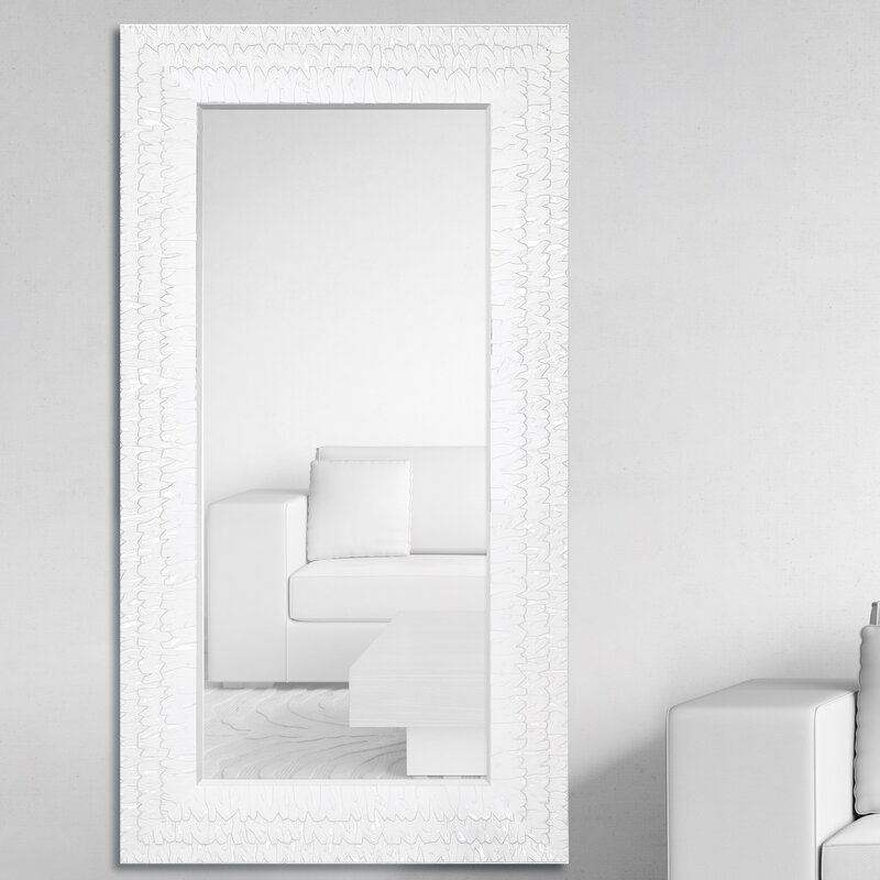 Awesome Oversized Rectangular Framed Beveled Glass Wall Mirror