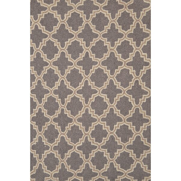 Hooked Gray Area Rug by Dash and Albert Rugs