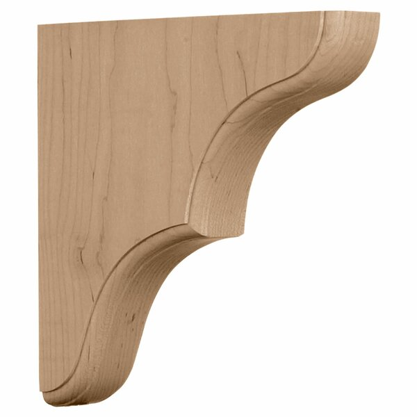 Stratford 10H x 1 3/4W x 10D Wood Bracket in Cherry by Ekena Millwork