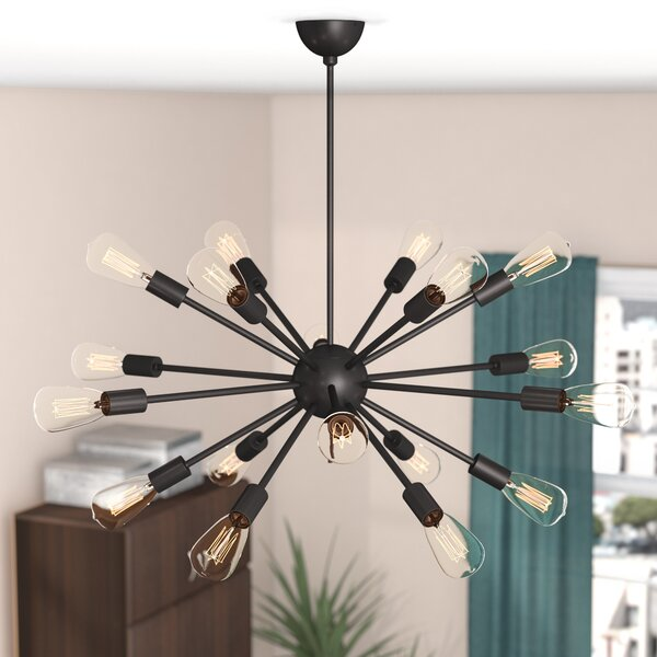Mohamed 18-Light Sputnik Chandelier by Langley Street