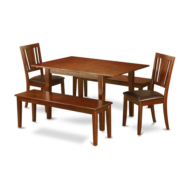 New Picasso 5 Piece Extendable Dining Set By Wooden Importers Today Only Sale