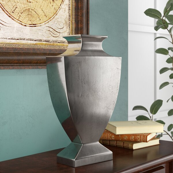 Albon Big Shoulder Aluminum Table Vase by Darby Home Co