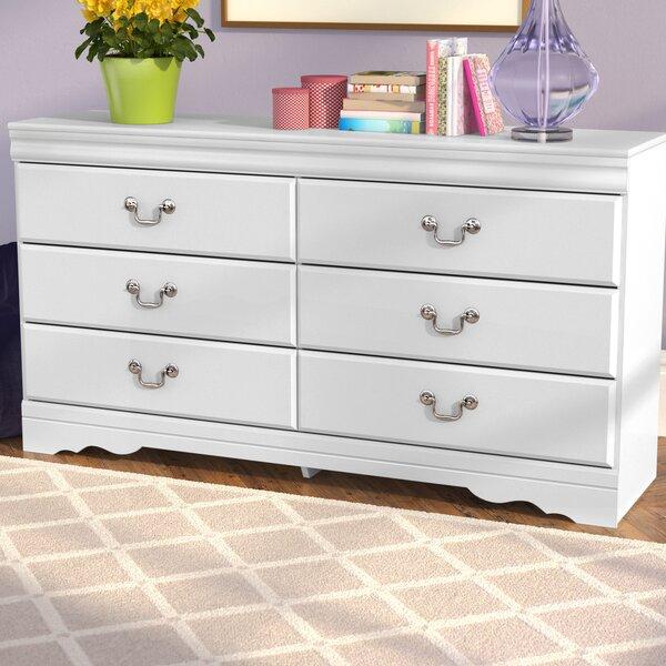Kurt 6 Drawer Double Dresser by Harriet Bee