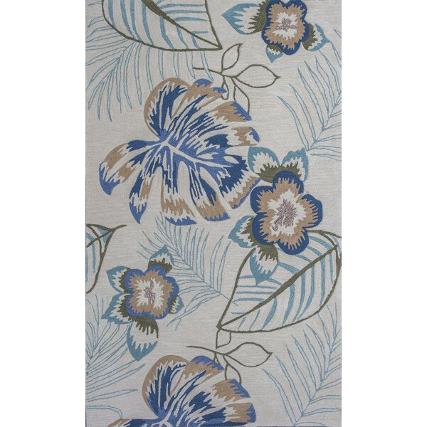 Roselawn Ivory Maui Area Rug by Bay Isle Home