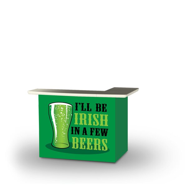 Zeveren St Patricks Day Irish Beers Home Bar By East Urban Home by East Urban Home 2020 Sale