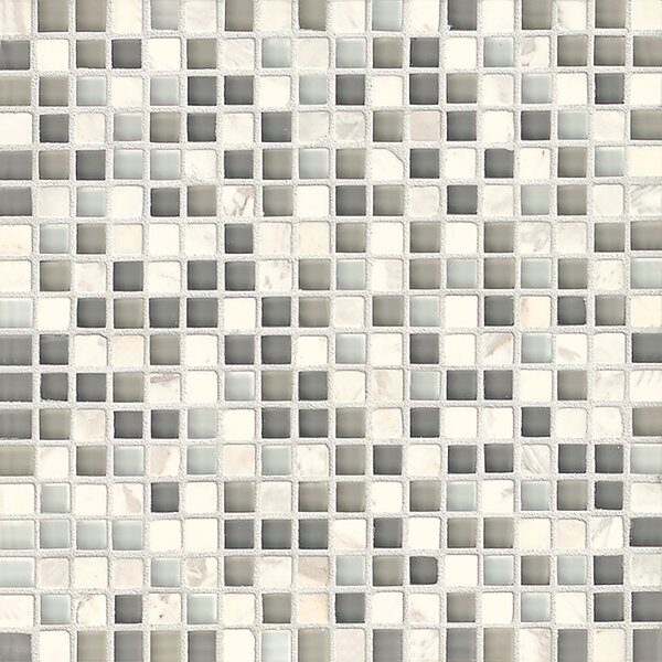 Carlisle 12 x 12 Stone Mosaic Blend Tile in Vale by Grayson Martin
