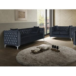 Buttonwillow 2 Piece Living Room Set by Everly Quinn