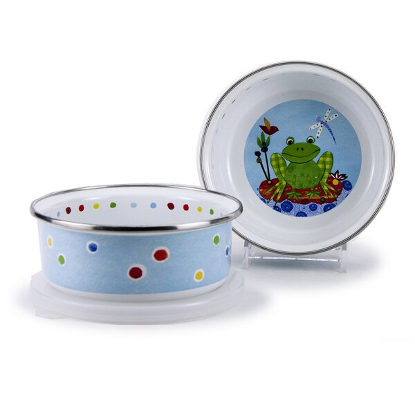 Chesham 14 oz. Leaping Cereal Bowl (Set of 4) by Zoomie Kids