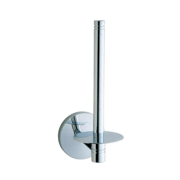 Studio Wall Mounted Spare Toilet Roll Holder by Smedbo