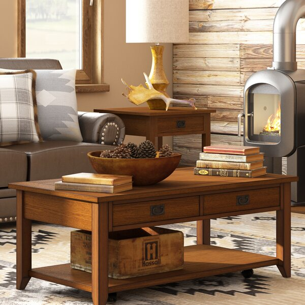 Dillwyn Coffee Table With Storage By Bungalow Rose