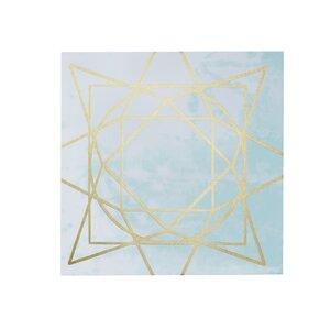 'Artic Geometric' 2 Piece Graphic Art on Canvas Set by Willa Arlo Interiors