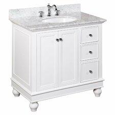 Drawer Ceramic Sink Bathroom Vanities You Ll Love Wayfair